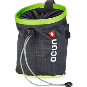 Ocun Push + Belt Chalk Bag black/green